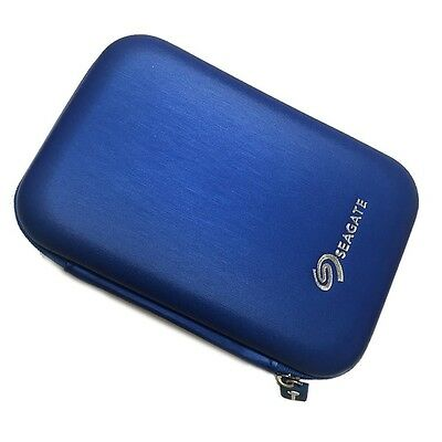 POUCH for Seagate Wireless Plus [HDD Carrying Bag Hard disk Case Pouch] Blue