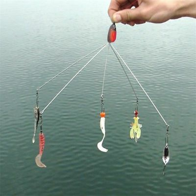 Convenient Fish Lure Equipment Multifunctional Fishing Tackle Combination J#~