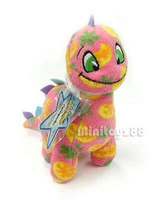 Neopets Series 5 Disco Chomby Keyquest Unused Code Plush Toy