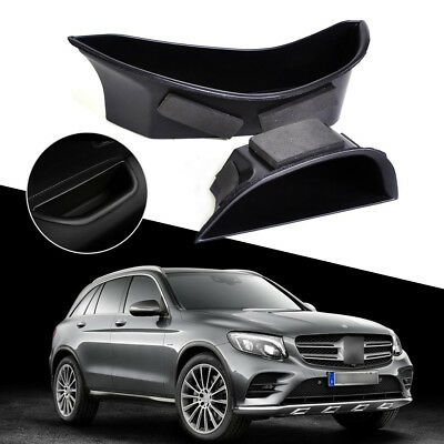 2 Front Door Armrest Storage Box Holder Container for Mercedes-Benz C-class W205