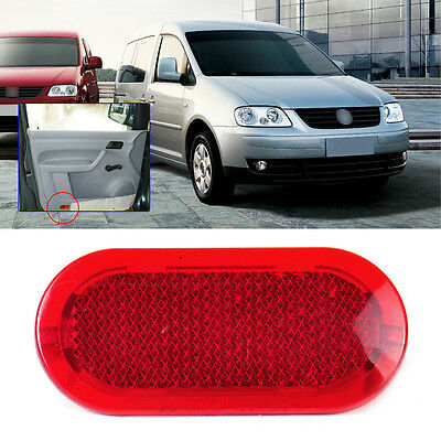 For VW Beetle Caddy Polo Touran Door Red Panel Warning Light Reflector 6Q0947419