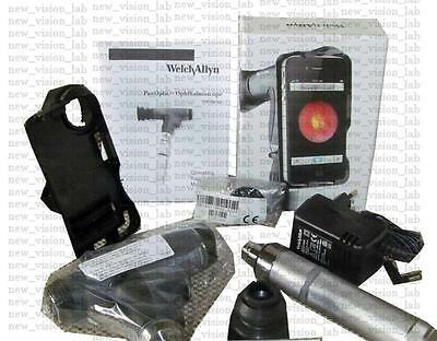 Welch Allyn PanOptic Ophthalmoscope + iExaminer Adopter Complete Set Free Ship