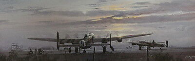 Avro Lancaster Operations On Print by Philip West 101 Squadron Air Force RAF