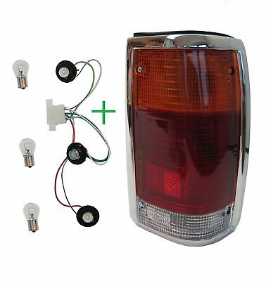 Rear Light Mazda for B2000 b2200 1985 chrome tail lamp pickup truck RH O/S New