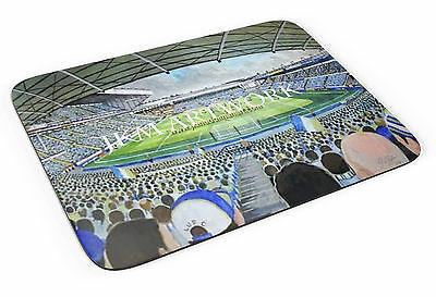 Elland Road Stadium Art(2) Mouse Mat - Leeds United FC