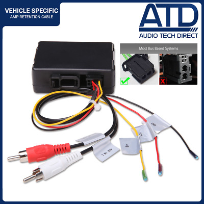 Porsche Cayenne Cayman 911 Mercedes ML Fibre Optic Amplifer Amp Adaptor Decoder