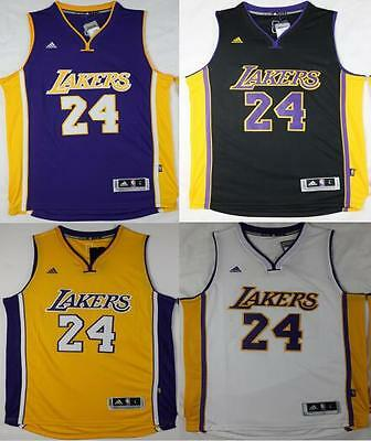 New Los Angeles Lakers #24 Kobe Bryant Jersey Size: S - XXL
