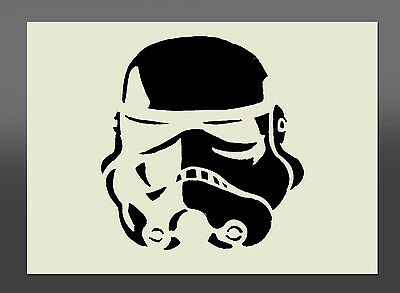 Star Wars Stormtrooper Stencil - Various Sizes - Made From High Quality Mylar