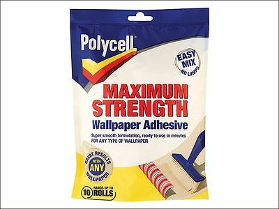 Polycell - Maximum Strength Wallpaper Adhesive 10 Roll