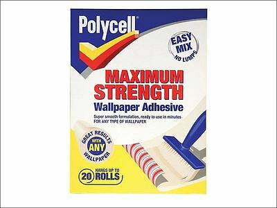 Polycell - Maximum Strength Wallpaper Adhesive 20 Roll