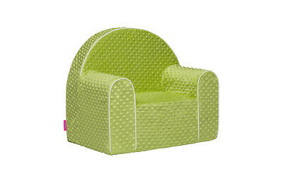 Midi Dots Kid Armchair, Baby Children Lovely Chair Seat Foam, Removable Cover