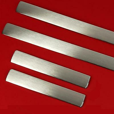 Brushed Stainless Steel door step sill tread plates for Range Rover Sport 2005+