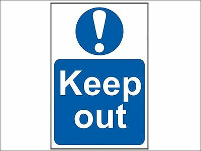Scan - Keep Out - PVC 400 x 600mm