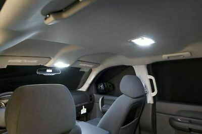 9x White Licese Plate Interior Led Light Package Kit For 2003 2007