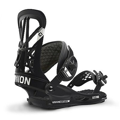 Union - Flite Pro | 2017 - Mens Snowboard Bindings - New | Black