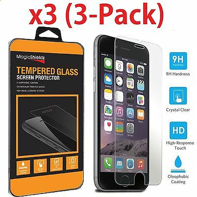 New Premium Real Tempered Glass Film Screen Protector for Apple iPhone 7