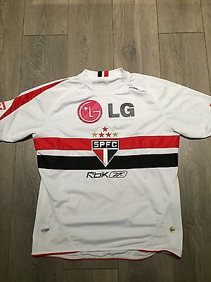 São Paulo Home Shirt 2006 Number 10 Large Rare And Vintage