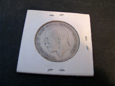 Great Britain 1/2 Crown, 1921 George V Circulated
