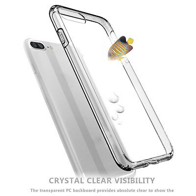 Slim Thin Transparent Back Safe Soft Clear Silicone Case Cover For iPhone 7 Plus