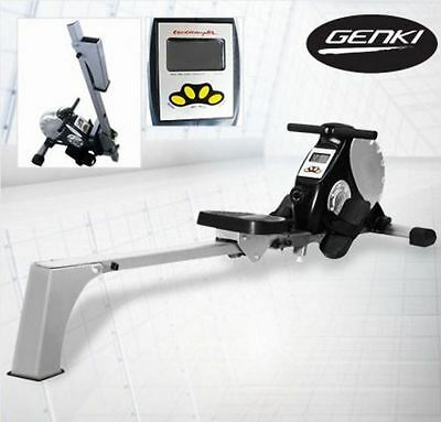New Genki Exercise Rowing Machine With Magnetic Resistance & Multi Functions
