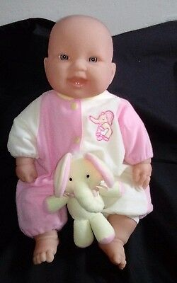 BERENGUER 38cm Baby Doll soft body vinyl arms and legs Exc Cond Original Outfit
