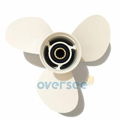 Aluminum Outboard Propeller 11 1/4x14 For 40HP-60HP Yamaha Outboard Motor Engine