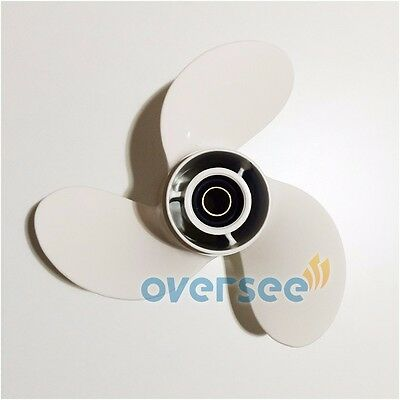 Aluminum Outboard Propeller 9 1/4x9-3/4-J For 9.9HP 15HP YAMAHA Outboard Motors