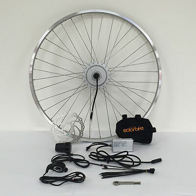 Electric Bicycle Conversion Kit (Basic)- 200W, 250W, 350W, 500W and 1000W