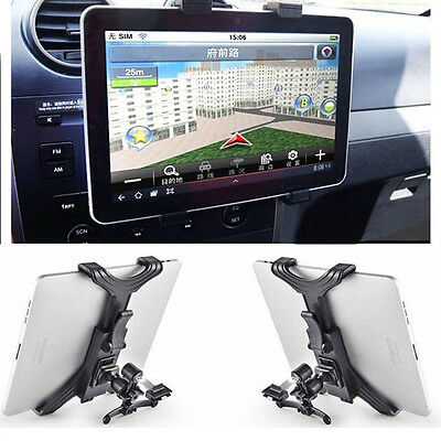 Universal Tablet Holder In Car Mount Stand Vent Dash Holder iPad 2 3 & Air
