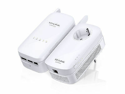 TP-Link TL-WPA8630 KIT AV1200 Gigabit Powerline AC1200 Wi-Fi Kit EU Plug