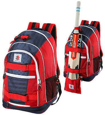 2017 Gray Nicolls Cricket Red White Blue Cricket Rucksack