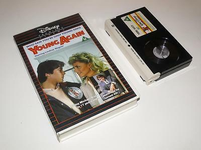 Betamax Video ~ Young Again ~ Lindsay Wagner / Robert Urich ~ Disney Home Video