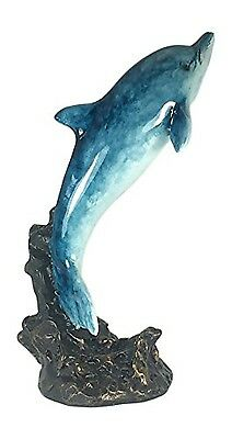 Leaping Dolphin Figurine - 6.5 Inches Tall