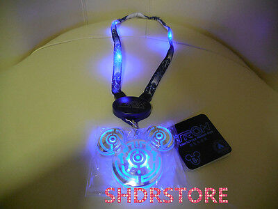 Shdr Tron Lightcycle Lanyard Light Shanghai Disney Park Resort Disneyland