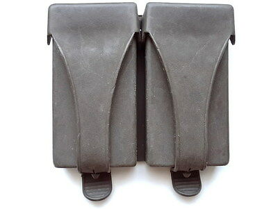 ORIGINAL MILITARY DOUBLE AMMO POUCH G3 HK FOR 20rd MAGAZINE 91 .308 GERMAN ARMY