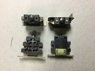 GE Auxiliary Contact Block C2511-1-Lot of 4