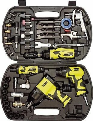 Draper Storm Force 68 Piece Air Tool Kit Ratchet, Wrench, Die Grinder 83431