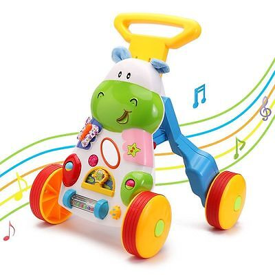 Brand New Boys First Step Walker & Learning Music Toys For Kids