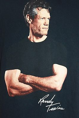 Randy Travis Passing Through Country Music Concert Tour T Shirt Size Xl Ad