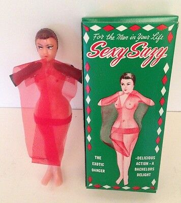 Vintage Sexy Suzy Nude Plastic Doll Gag Gift