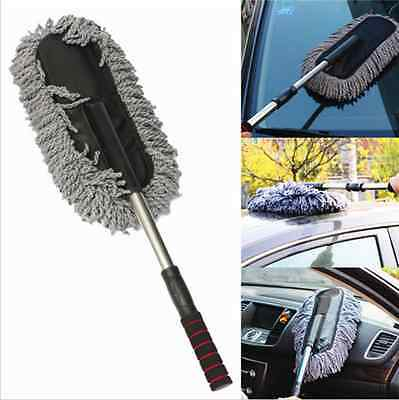 Car Auto Cleaning Wash Brush Dusting Tool Large Microfiber Telescoping Duster