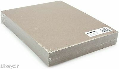 Grafix Medium Weight Chipboard Sheets 8-1/2-Inch by 11-Inch Natural 25-Pack