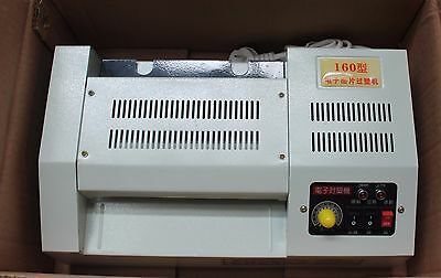 NEW Heavy Duty A4 160mm Pouch Laminator Laminating Machine SF160 Hot / Cold