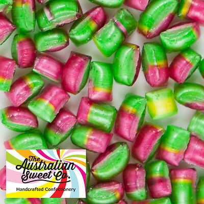 1kg Tiny Tots Rosy Bites Rock Candy boiled bulk lollies - Wedding Favours Party • AUD 14.95