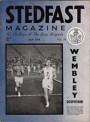 27 Issues Of Stedfast : The Boys Brigade Magazine. 1954 - 1957. Good Condition