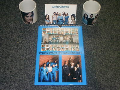 Wentworth Tv Show And Dvd Inspired Calendar And Mugs Gift Set Uk Seller