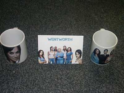 Wentworth Tv Show And Dvd Inspired Mugs Gift Set Uk Seller