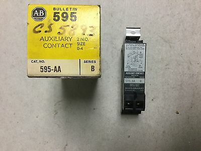 Allen Bradley Auxiliary Contact 595-AA Series B