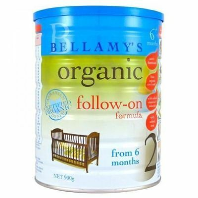 Bellamy's-Organic-Infant-Formula-Stage-2-900g  有机 - 婴儿配方级, 2-900g