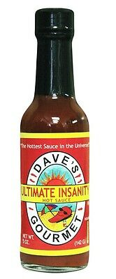 Dave's Gourmet Ultimate Insanity Hot Sauce  -  5oz